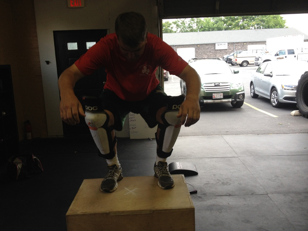 Trouble with box jumps?  Scott has a perfect solution!  Well...maybe not perfect.