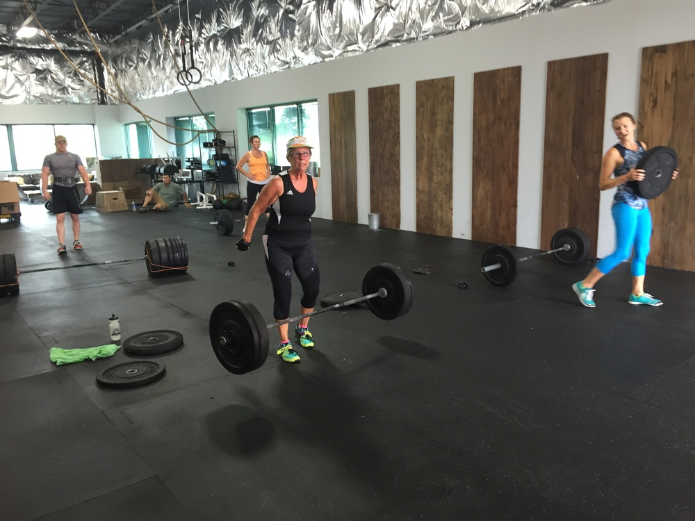 As usual, Margaret is throwing around some big weights!
