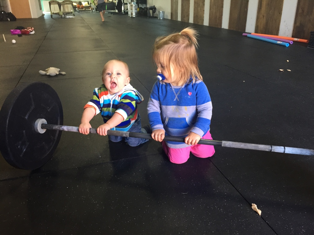We like to start training at an early age at ODIN.