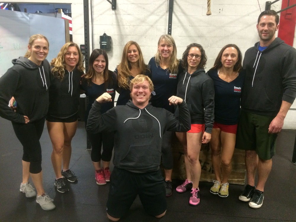 5 ODIN Coaches received their CrossFit Level 2s!  Great work, gang!