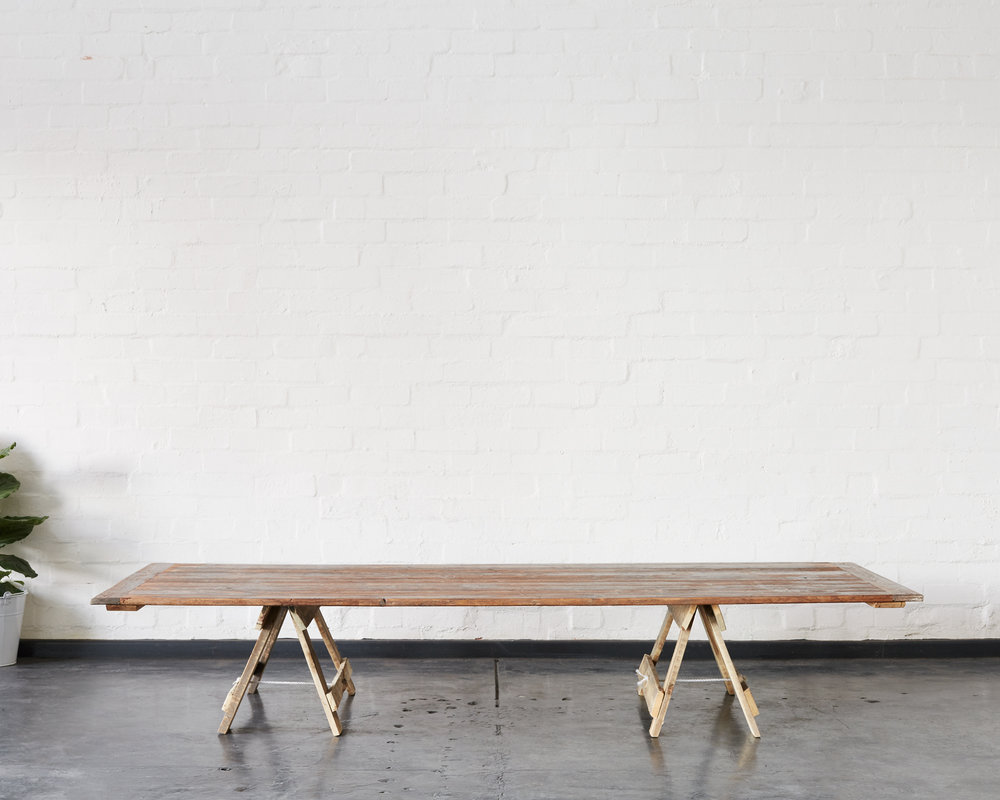 Crawford Trestle Table
