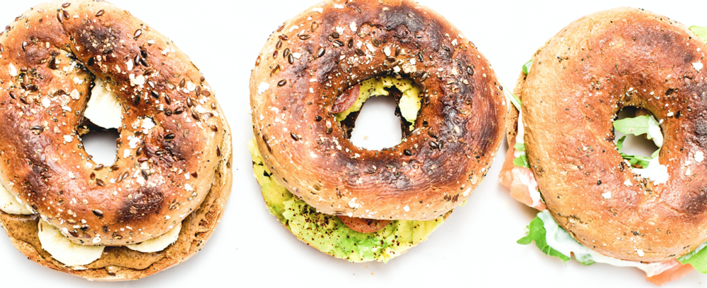 Multi-grain bagels