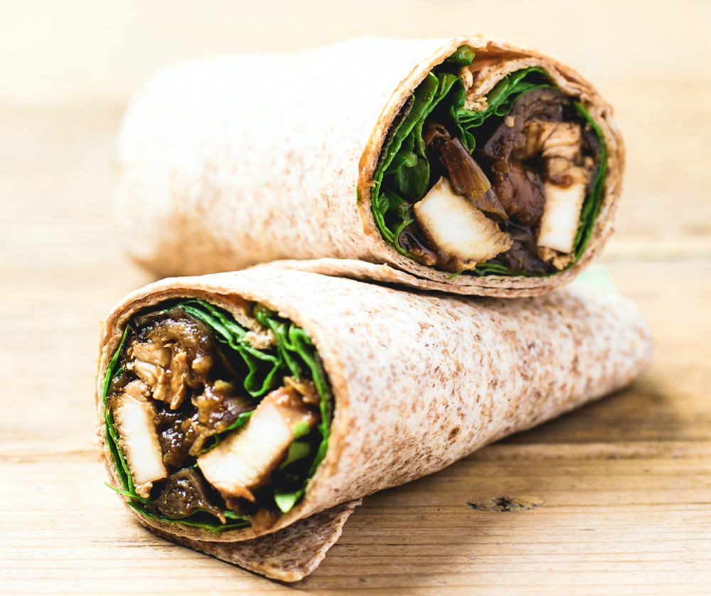 Chicken Miso Hot Wrap