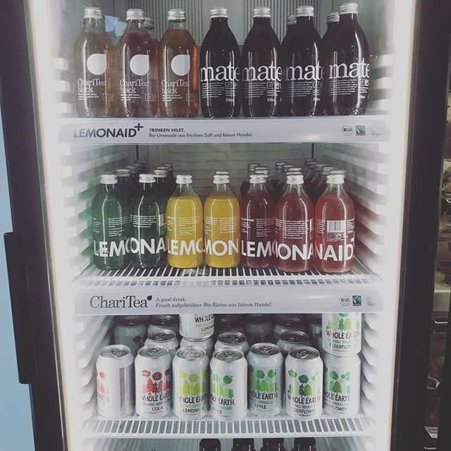 Thirsty? We've got you covered 😎 Our fridge is stocked with great tasting cold drinks that are kind to your body (and vegan friendly, too) 💦 • • • -------------------------------------------------------------- #nourish #sheffield #wholeearth #lemonaid+ #charitea #tea #vegan #veganfriendly #vegetarian #food #foodporn #gym #gymmotivation