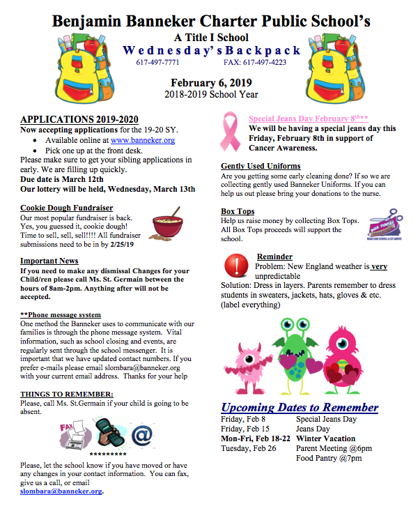 Download Link for the February 6th Backpack    KidStuff Coupon Book