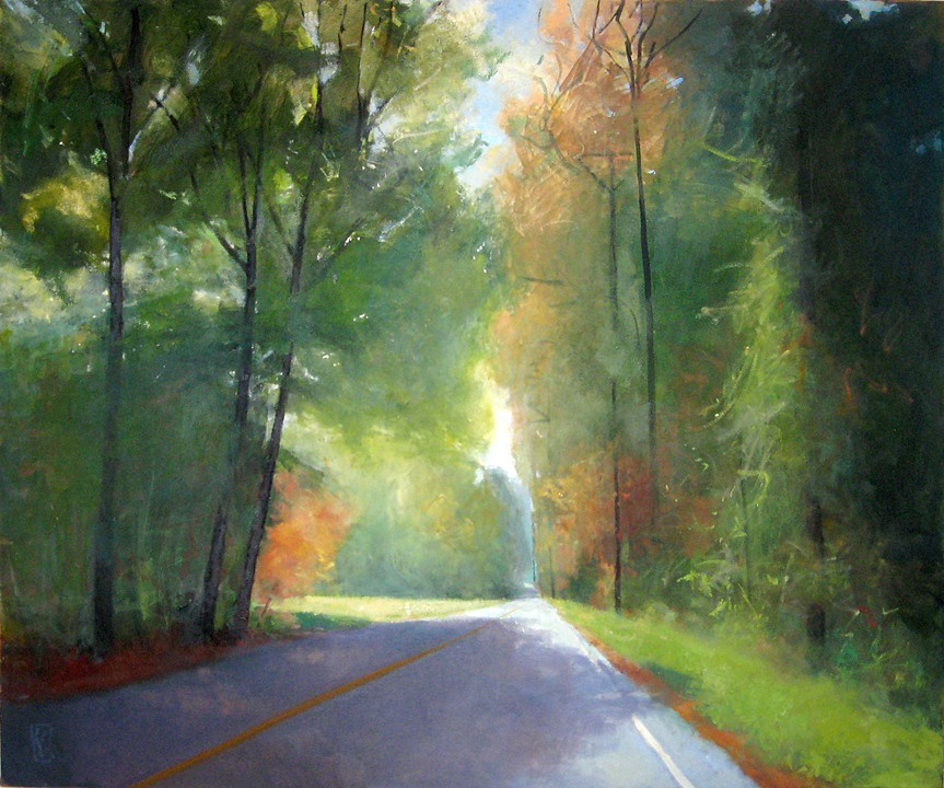 Bright Passage  30 x 40 oil on linen  sold