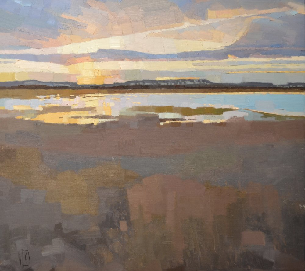 Gilt Sky  26 x 29 oil on linen  sold