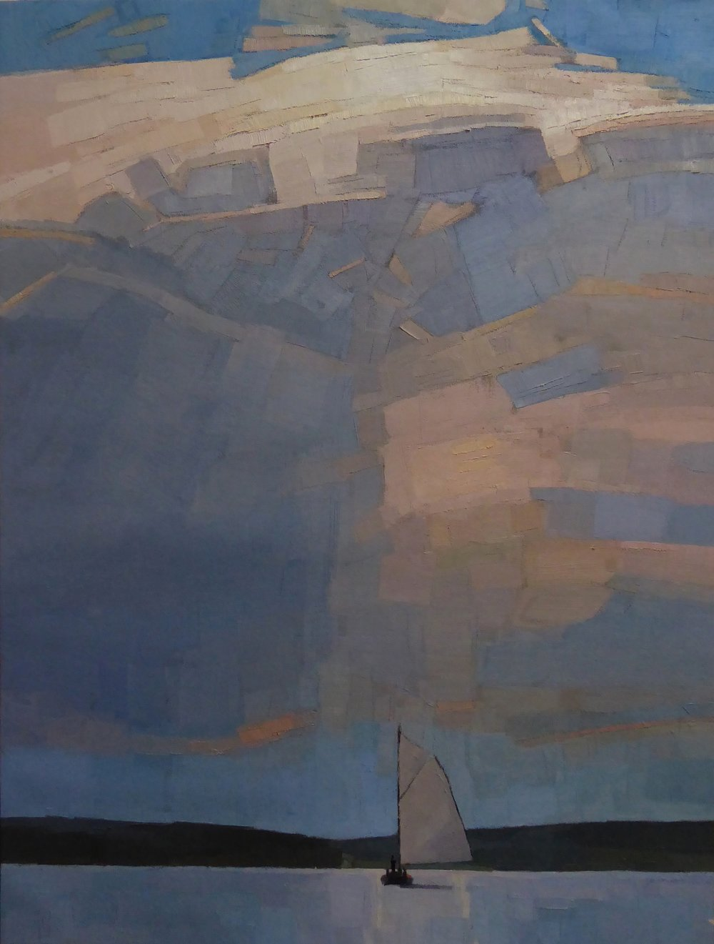 Witness 30 x 40 oil on linen   Islesford Artists Gallery   sold