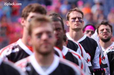 MLL Denver Outlaws wear isplack eyeblack