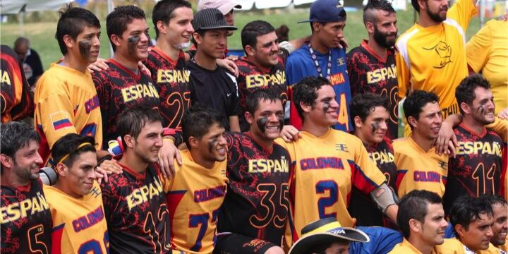Espana and Colombia FIL World Games 2014