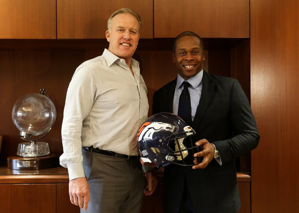 John Elway and Vance Joseph agreed to a 4-year contract deal.