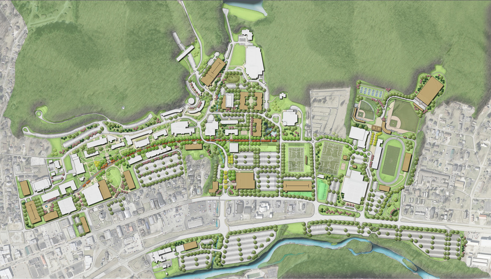 morehead state university master plan element design