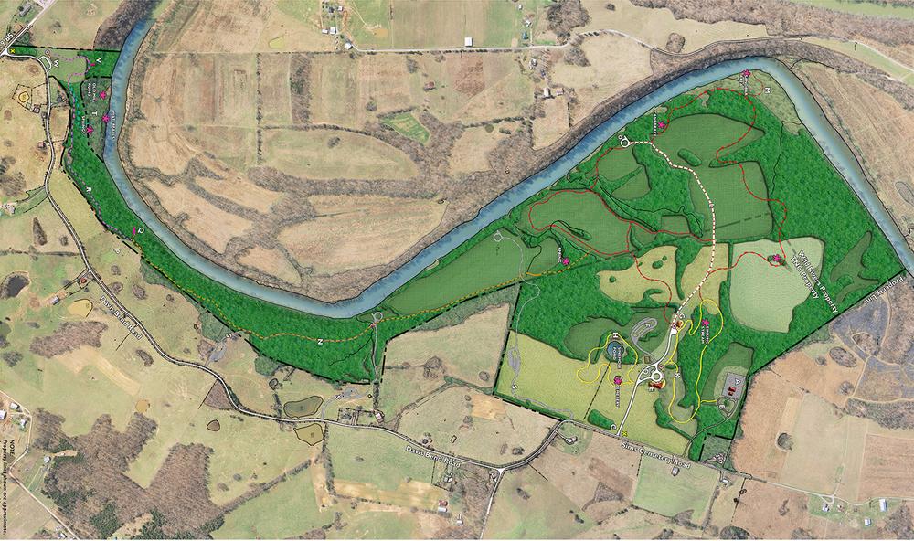 Davis Bend Preserve Master Plan