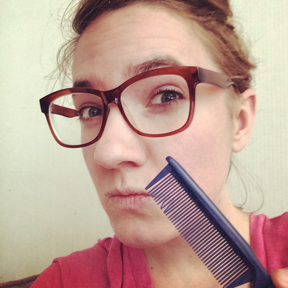 This is the fine toothed comb I'm using to go through my MS. Keeps getting stuck on the Qs.