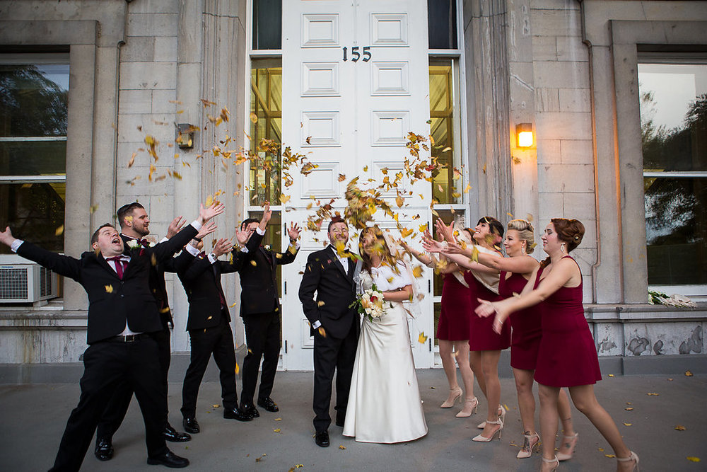 Montreal Fall Wedding- Canadian Russian Wedding