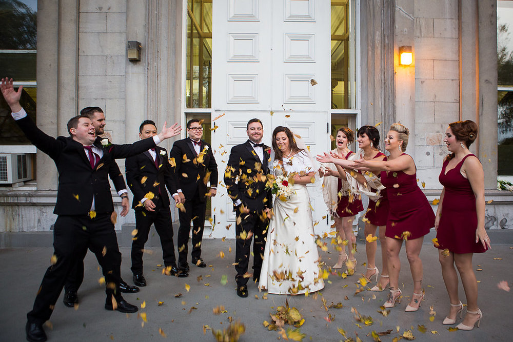 Mariage d'automne Montreal Fall Wedding Bridal Photos