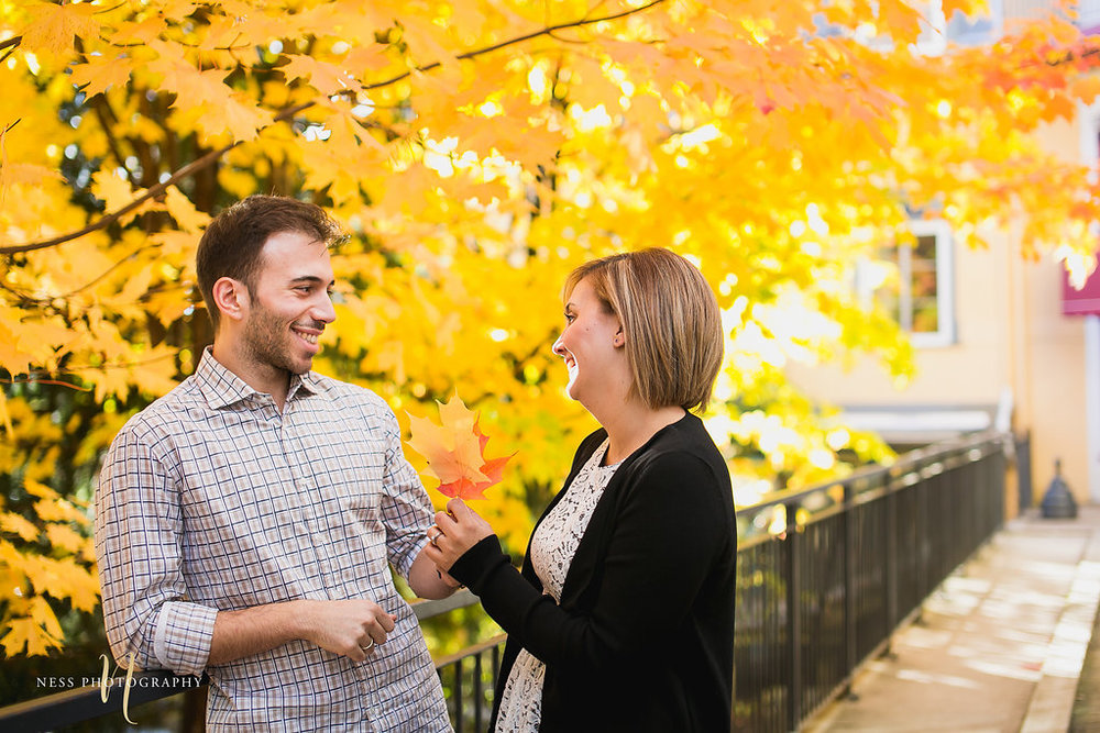 Mont Tremblant Fall Engagement Session