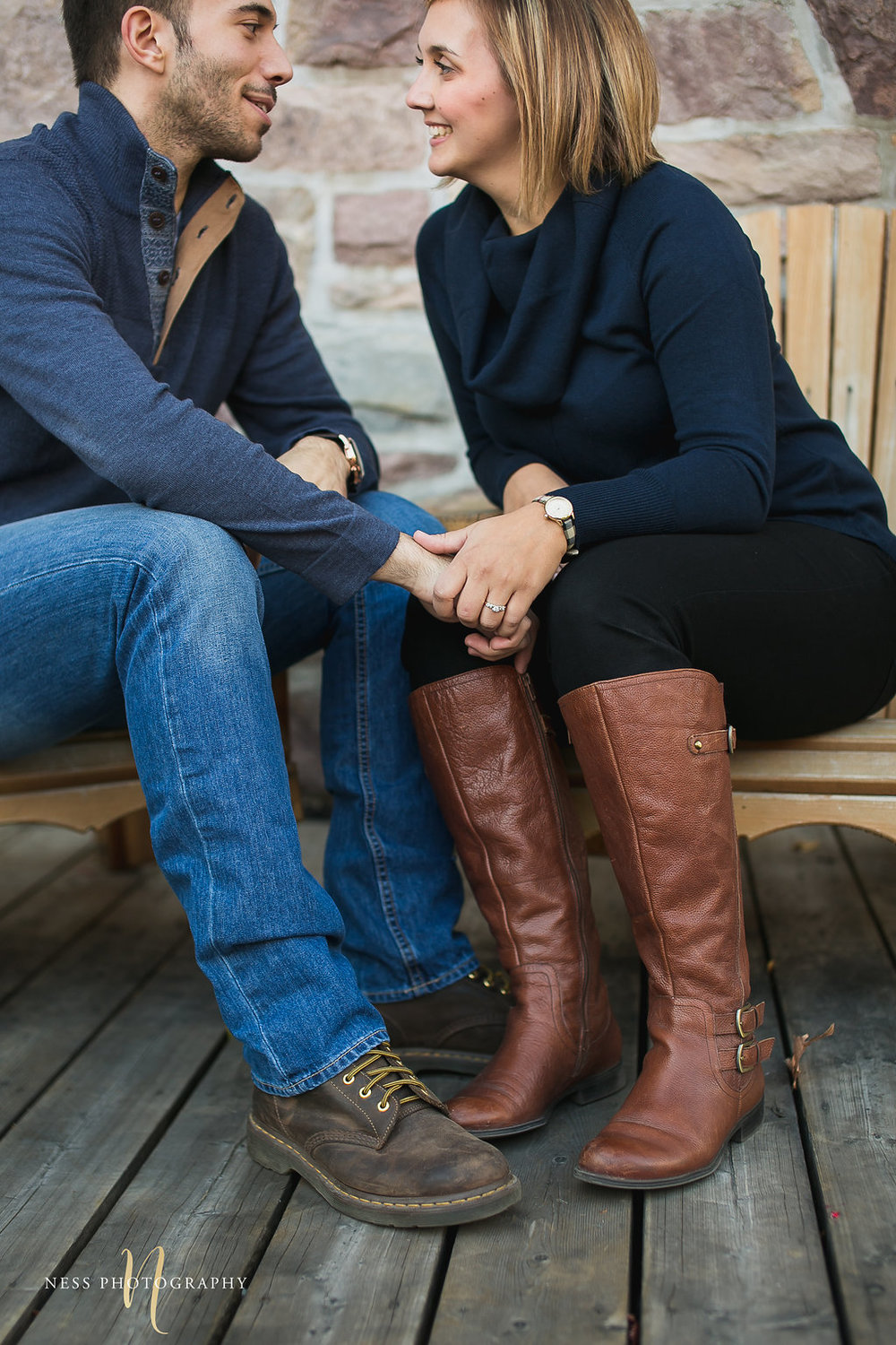 Mont Tremblant Fall Engagement Session - Ness Photography