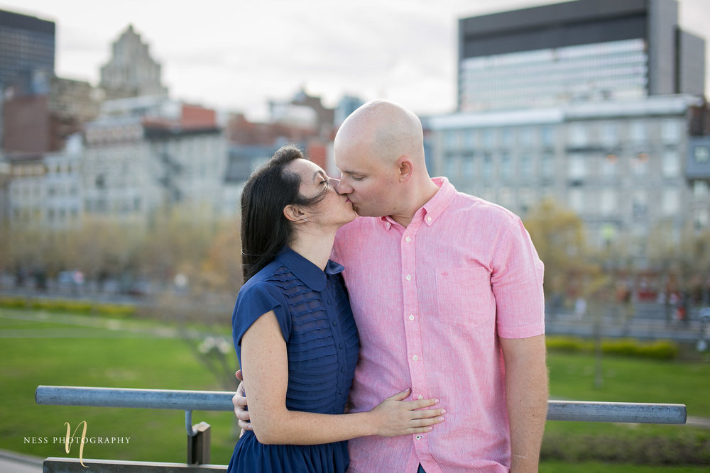 Adelina & Dan Engagement Photos Old Port Montreal with white dog By Ness Photography Wedding and Engagement Photographer 132.jpg
