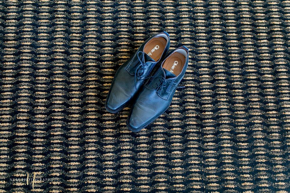 montreal elopement groom shoes
