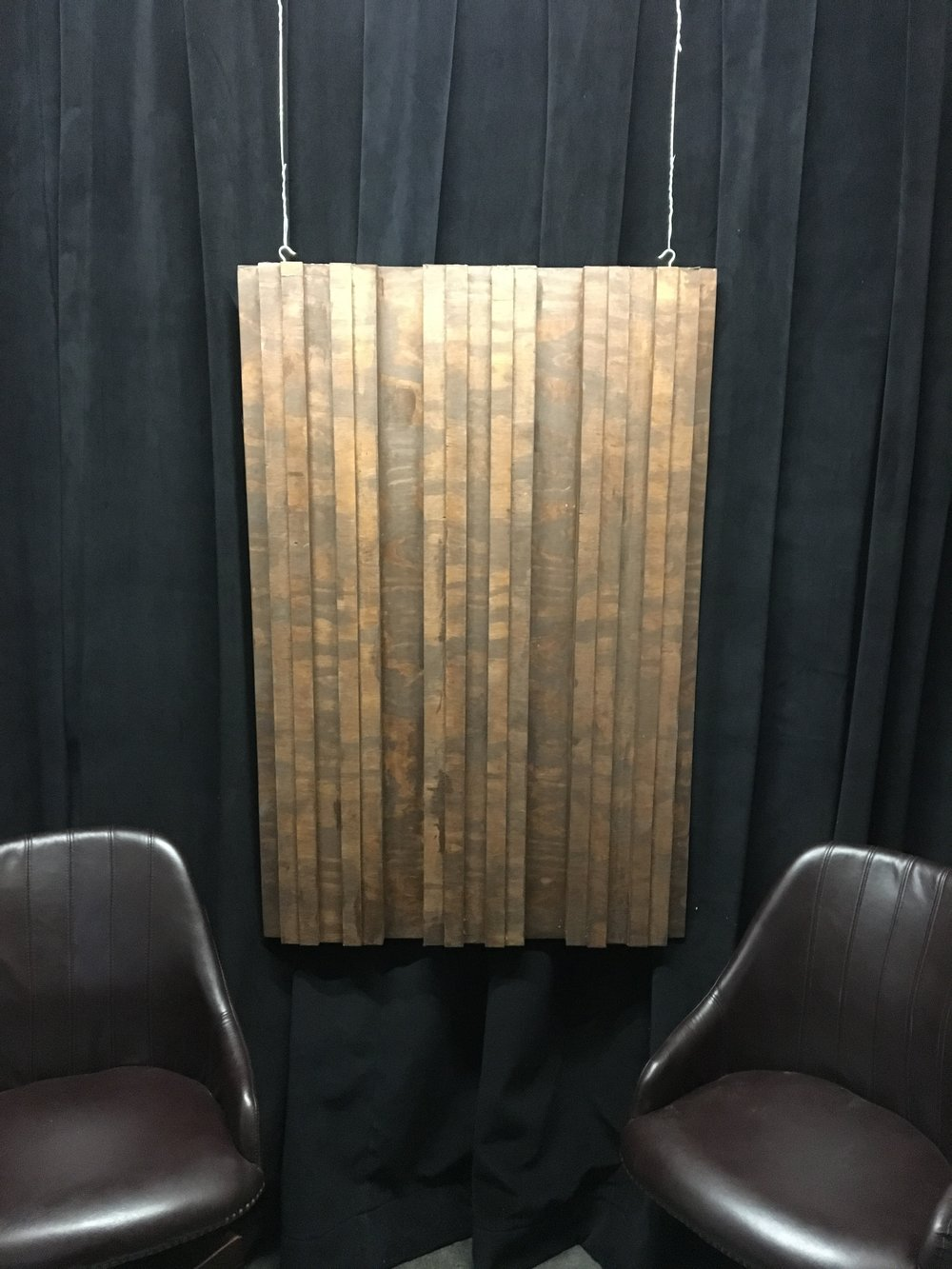 Rose Brand Acoustic Curtain and Custom Diffuser on Top