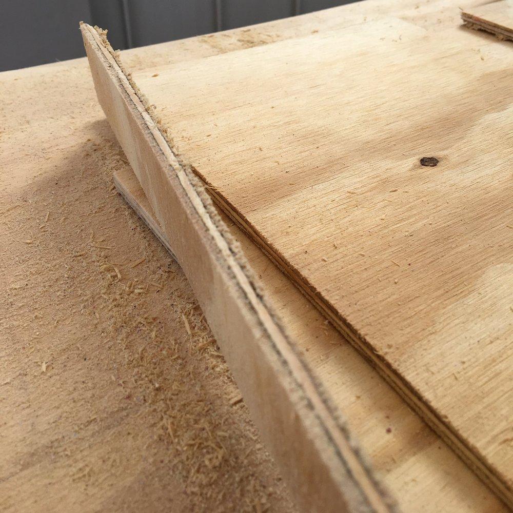 "1/4"" Plywood"