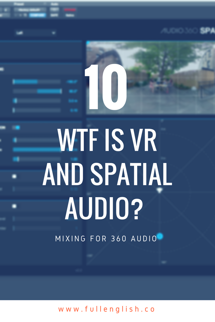 WTF is VR and Spatial Audio? Mixing for 360 audio — Full English Post