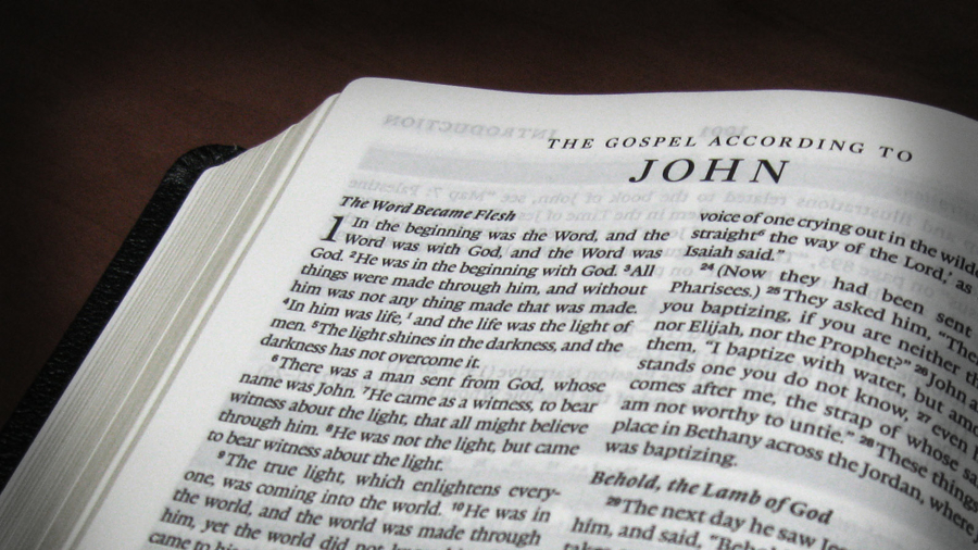 an examination of the gospel according to john Reading the gospel of john is even more powerful when you use a version that reads like an engaging novel unlike other bibles, this exclusive edition does away with the two-column format and distracting notes in the margins, making it easy to read and hard to put down.