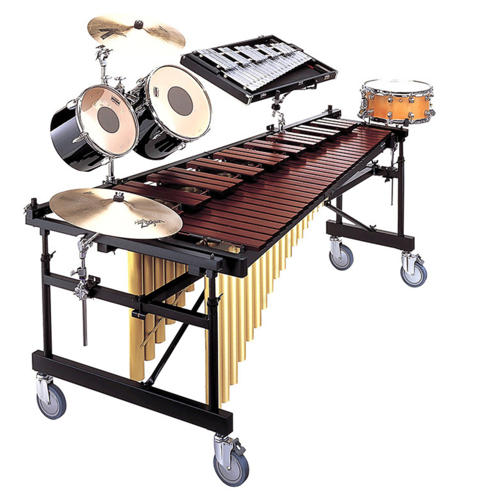 YAMAHA PERCUSSION - YMRD-2400-C 4 1/3 Octave Intermediate Acoustalon™ Multi-Frame™ II Marimba  Manufacturer's photo for reference only. Photos & pricing available upon request.