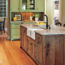 Chests, tables, desks and vanities can double as kitchen islands.