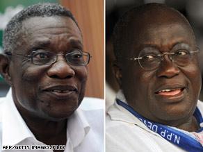 New President In Ghana...