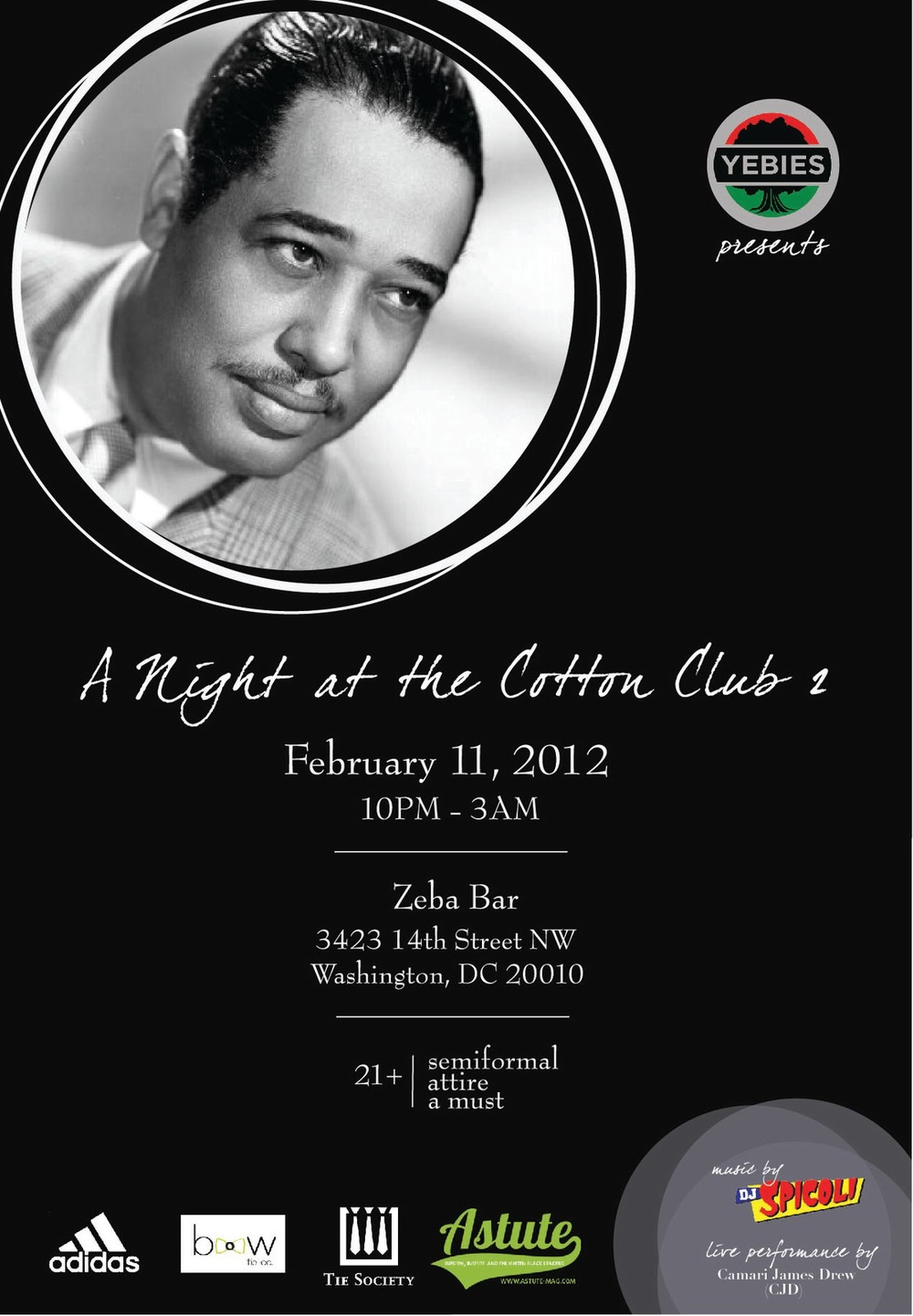 A Night At The Cotton Club 2 (#CottonClub2)