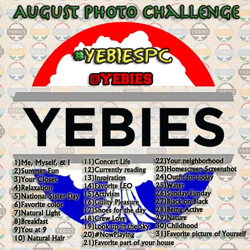 YEBies August Photo Challenge