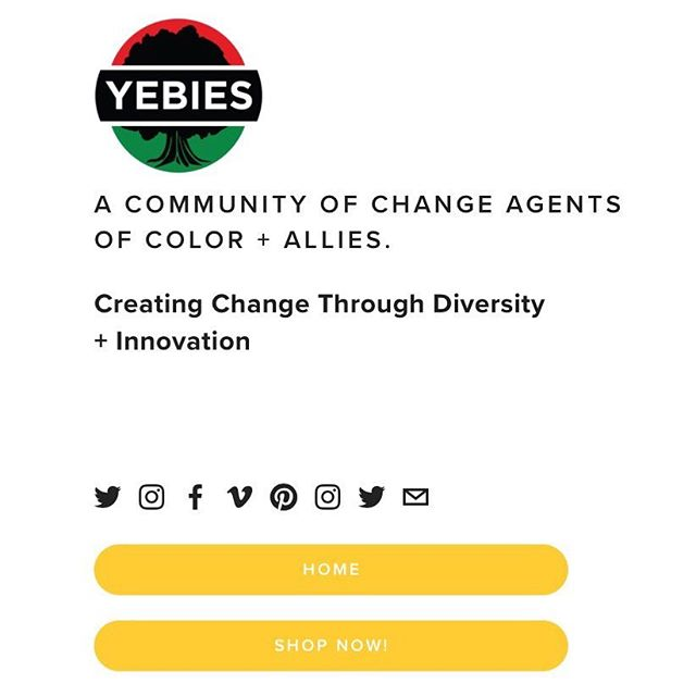 We're Back! YEBies.com 4.0 is back with a new look and feel but same mission. Unapologetically making minorities a priority. #WeAreYEBies