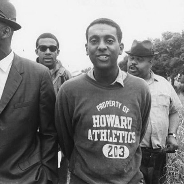 #YEBies #TBT  #StokleyCarmichel aka #KwameToure as student at @howard1867 in the 1960's marching for social change. #WeAreYEBies #YUstudentbody