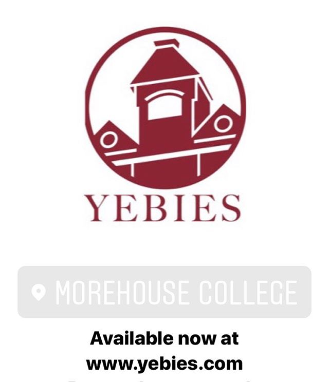 The next #HBCU collection is now available at www.yebies.com  Proceeds of this one goes towards scholarships for future men of #Morehouse.  #WeAreYEBies #MorehouseCollege