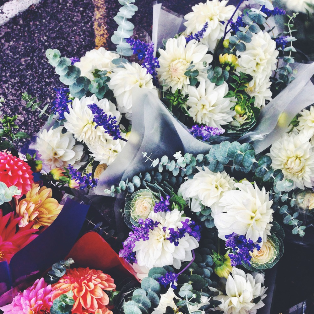 Farmers Market Flower Bouquets