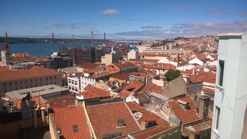 Such beautiful. Lisbon, you're so pretty.
