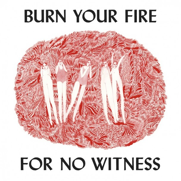 Angel Olsen Burn Your Fire For No Witness Vinyl Album Cover