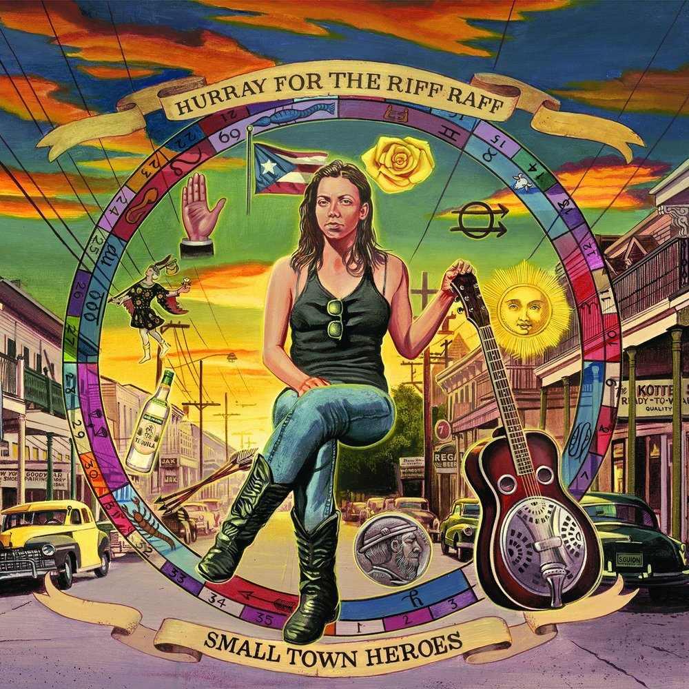 Hurray for the Riff Raff Small Town Heroes Vinyl Album Cover