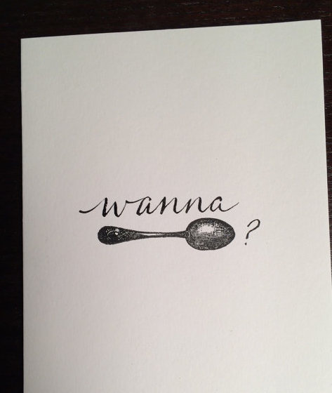 TheCurlyQuill - Wanna Spoon