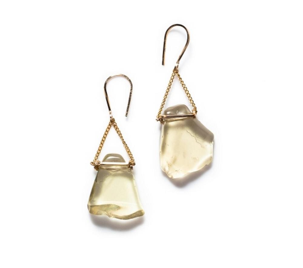 Boe Stone Drop Earrings