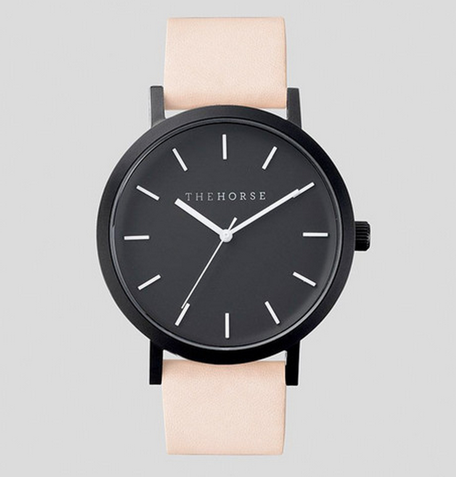 The Horse Matte Black Watch