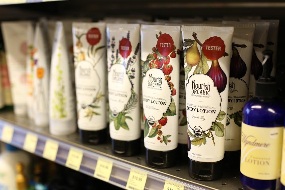 Nourish Organic Hydrating & Smoothing Body Lotion in Fresh Fig, $10.99.
