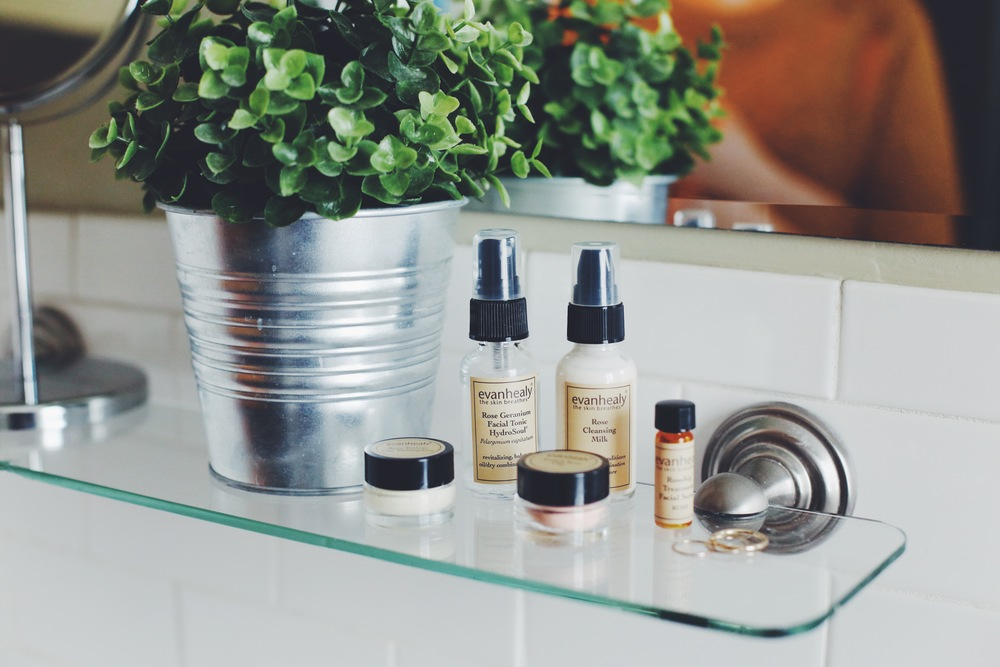 evanhealy Rose Balancing Face Care Kit, $29.95.