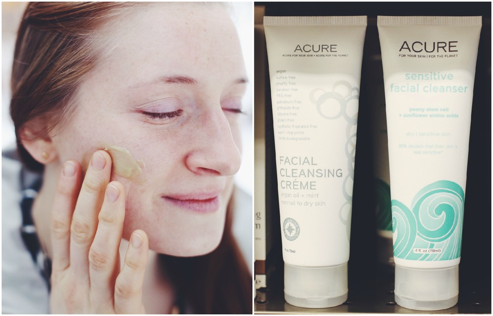 ACURE Facial Cleansing Creme, $14.99.
