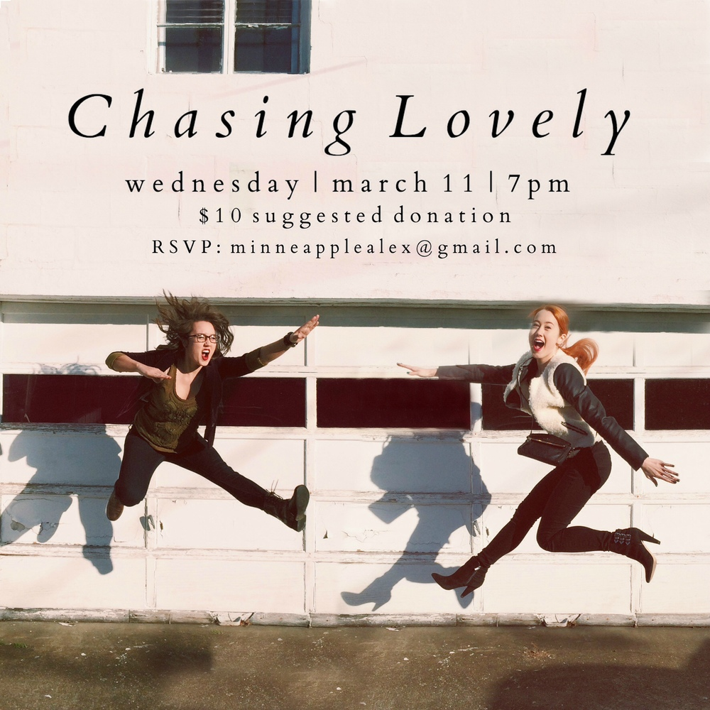 Chasing Lovely House Show in Minneapolis, Minnesota