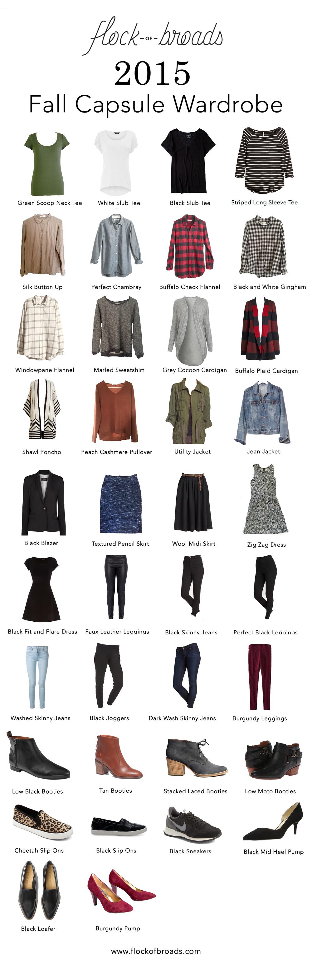Winter-2015-edited-capsule-wardrobe | Calegion