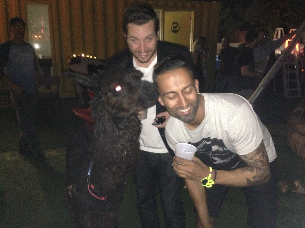 TACOS & LLAMA party hosted by Tony Hsieh for the EDM Biz after party! She loves Me ;)