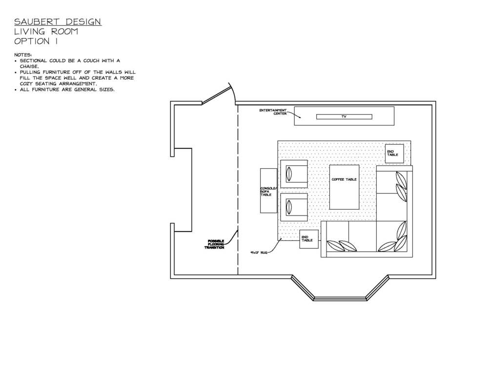 LIVING ROOM Layout 1